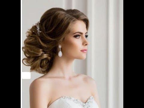 01701161d اجمل تسريحات الشعر للعروس 2019 - YouTube