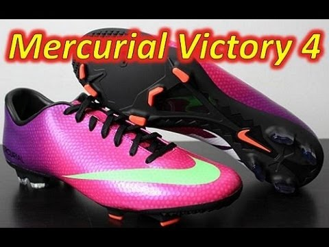 c8b1419b8d8d Nike Mercurial Victory 4 IV Fireberry - Unboxing + On Feet - YouTube