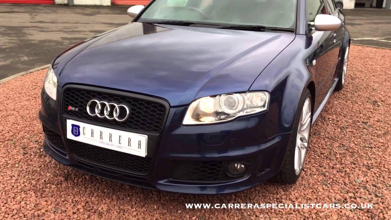 Audi RS4/B7 2007/07 - YouTube