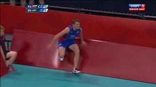 Алексей Обмочаев зарабатывает очко в олимпийском финале