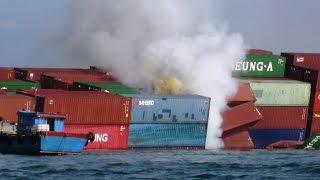 cargo ship carrying 28 Americans,  sank  Hurricane Joaquin