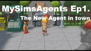 MySims Agents (Wii) - Ep. 1 The new agent in town