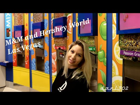 M&M and Hershey's World on the Las Vegas Strip