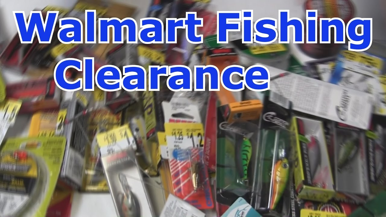 Bass Fishing Tackle Unboxing Walmart Clearance 2017