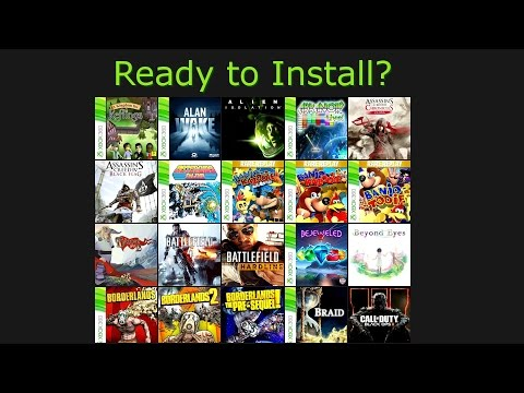how to download and install xbox games