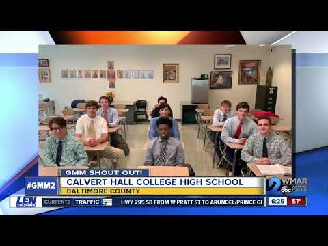 Good morning from Calvert Hall College High School!
