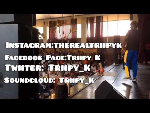 Triipy K Peforming At Malvern High School