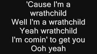 Iron Maiden - Wrathchild Lyrics