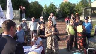 Врадиевка-Васильков. Выступление Елены Воронцовой.
