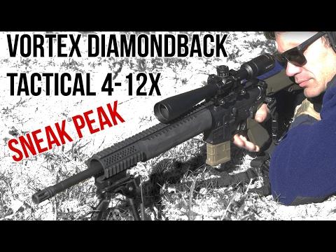 Sneak Peek: The Vortex Diamondback Tactical 4-12x Scope Pre-Production Review