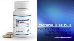 Buy Meratol Diet Pills-Leonardo DiCaprio & George Clooney Diet Pills