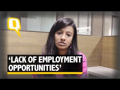 There's a Lack of Employment Opportunities Here': Corporate Professional`