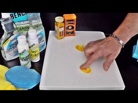 Best Stone Benchtop Cleaner - How to Clean & Stain removal Quartz Countertop