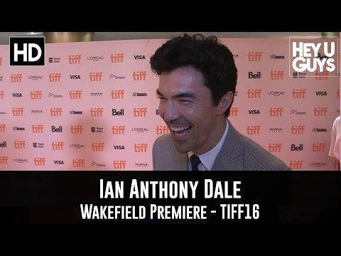 Ian Anthony Dale Premiere Interview - Wakefield (TIFF 2016)