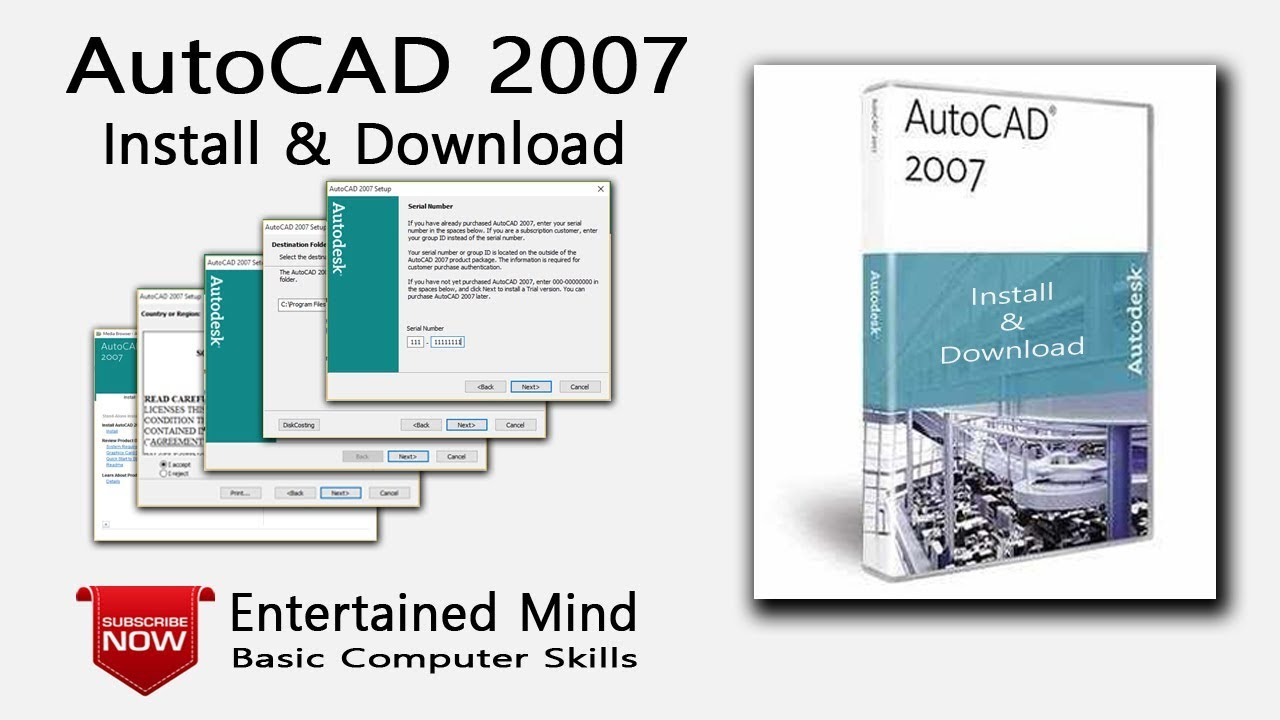autocad 2007 full crack 64bit win 10