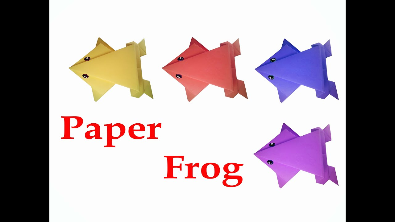 How to make origami frog very easy diy crafts youtube jeuxipadfo Images