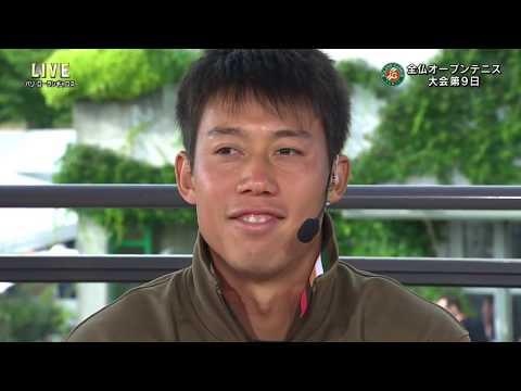 Kei Nishikori 4R studio interview | RG17