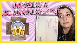 unboxing a very big announcement