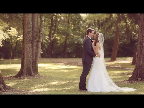 Emotional St. Louis wedding film at Grant's Farm will make you cry {groom cries}