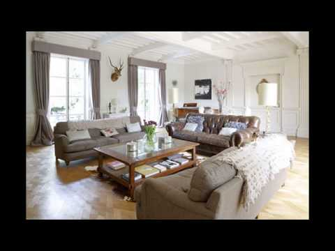 living room paint colors with gold furniture - YouTube