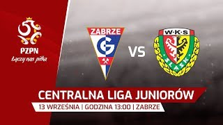 CLJ: Górnik Zabrze - Śląsk Wrocław - Na żywo