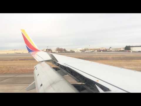 Landing in Albuquerque.