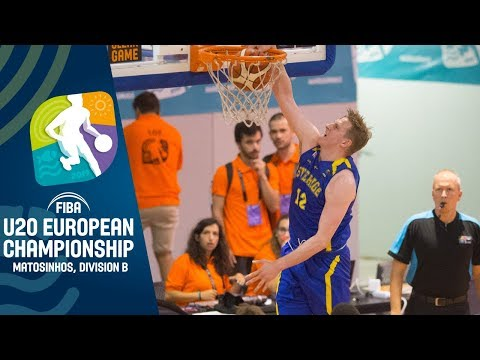 Kosovo V Sweden - Full Game - FIBA U20 European Championship Division B 2019