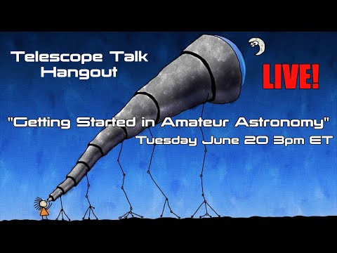 Getting Started in Amateur Astronomy