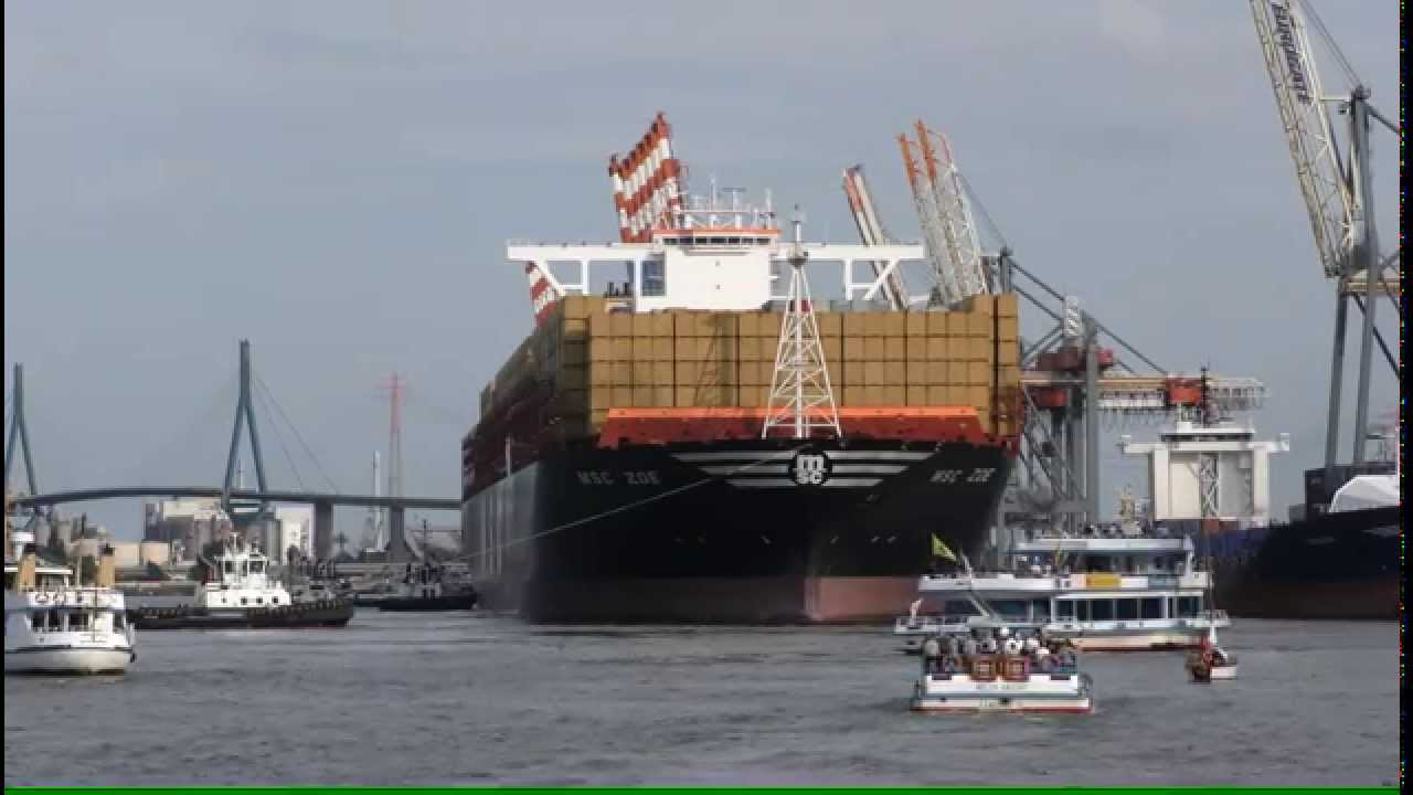 Das Größte Containerschiff Der Welt