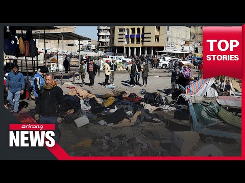 Iraq: Deadly suicide attacks in central Baghdad kill at least 32, 110 wounded