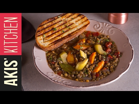 Lentil Soup | Akis Kitchen