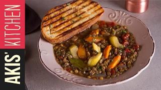 Lentil Soup   Akis Kitchen
