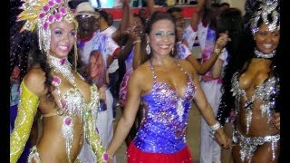 Brazil Dance Culture at Rio Carnival: Samba Dancing Girls