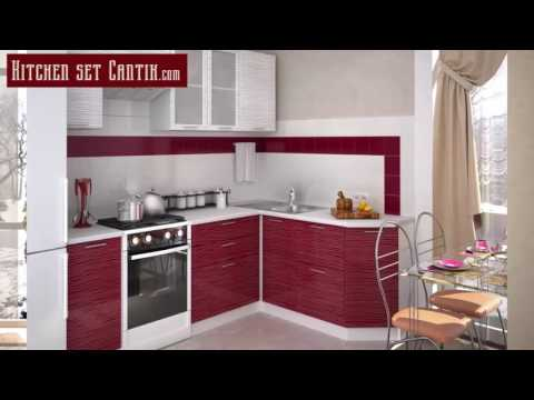 KitchenSet CantikSmall kitchen design for small space
