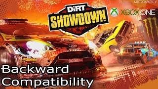 DiRT Showdown on Xbox One Gameplay - Backward Compatibility