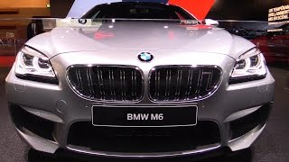 2017 BMW M6 Gran Coupe Competition Package 600hp - Exterior and Interior Walkaround