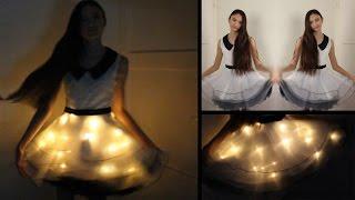 Lichtjes in een jurk DIY | Voor bijv. schoolfeest