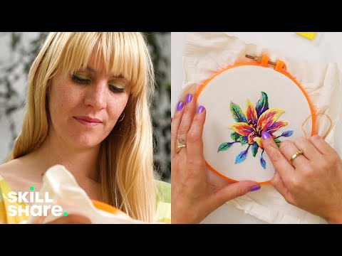 Embroidery 101: Six Basic Stitches for Beginners