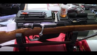 How to clean the Carcano Rifle/Carbine