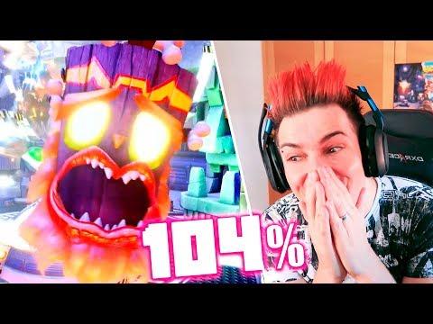 104% COMPLETADO!! OMG! Crash Bandicoot 3