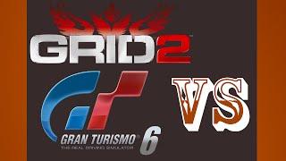 Gran Turismo 6 VS Grid 2 Brands Hatch PS3 {1080p 60fps}