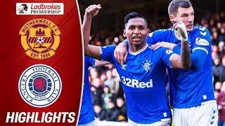 Motherwell 0-2 Rangers | Katic & Morelos on Target for Rangers! | Ladbrokes Premiership