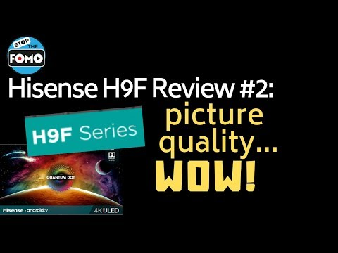 Hisense H9F TV review full of amateur mistakes