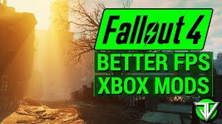 FALLOUT 4: How to Get MORE FPS with Console MODS! (Disabling Godrays and Lens Flare)