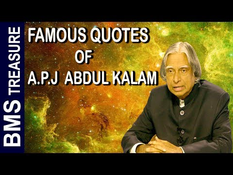 Best Quotes Of Apj Abdul Kalam For Successful Life In English