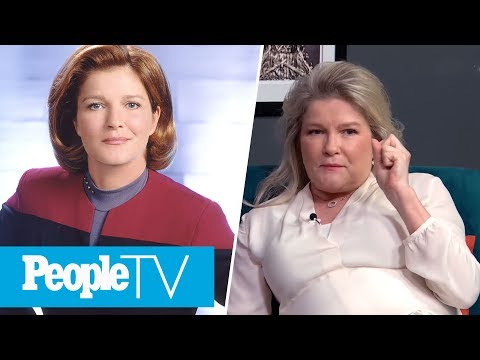 Kate Mulgrew On The Sexism She Faced From Star Trek: Voyager Execs   PeopleTV
