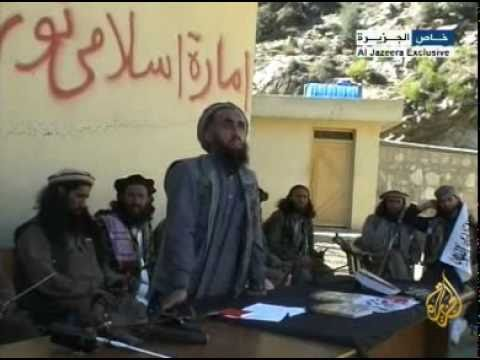 Taliban-controlled areas in the city of Nuristan