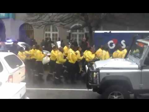 Firemen's Parade in Knysna, South Africa