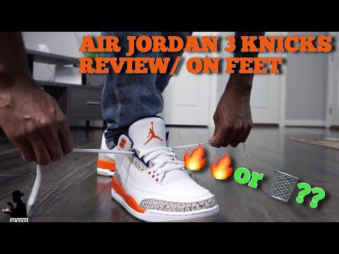 knicks 3s on feet