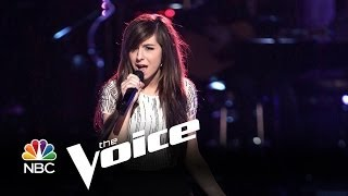 Repeat youtube video ( HD) Christina Grimmie High Notes On The Voice